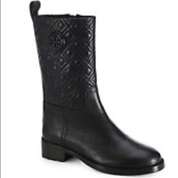1ddead2061f6 Tory Burch Mid calf boot. M 5a5fd8f09d20f0c6e3cefa5f